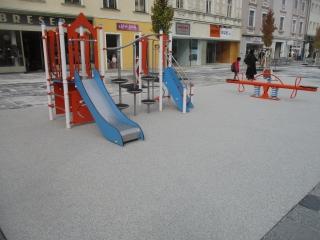 Spielplatz am Hauptplatz in Knittelfeld