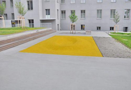 EPDM-Modellierung in der Carnerigasse in Graz